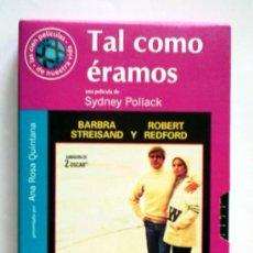 Cine: TAL COMO ÉRAMOS - VHS ORIGINAL COLECCIÓN EL MUNDO Nº81 - 113 MINUTOS. Lote 5912551
