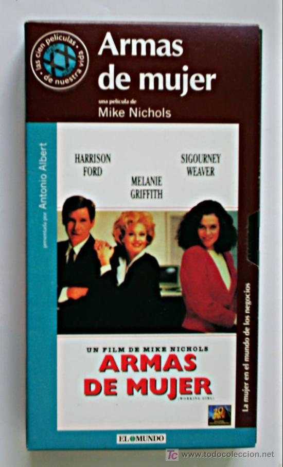 ARMAS DE MUJER - VHS ORIGINAL COLECCIÓN EL MUNDO Nº109 - 113 MINUTOS (Cine - Películas - VHS)