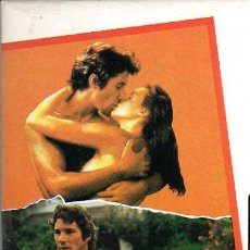 Cine: VIDEO VHS - VIVIR SIN ALIENTO - RICHARD GERE. Lote 6908403