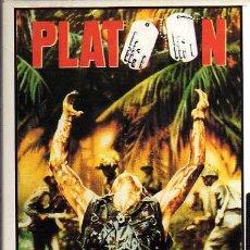 Cine: VIDEO VHS - PLATOON - OLIVER STONE. Lote 6908411