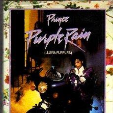 Cine: VIDEO VHS - PURPLE RAIN - PRINCE - EN INGLES CON SUBTITULOS EN CASTELLANO. Lote 9545125