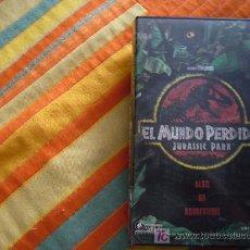 Cine: EL MUDO PERDIDO, JURASSIC PARK. Lote 8858252