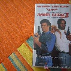 Cine: ARMA LETAL 3. Lote 8880099