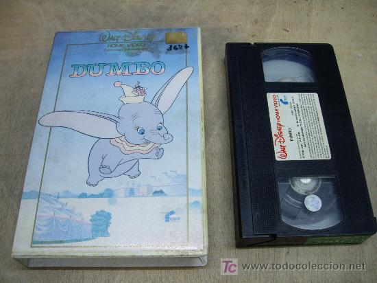 DUMBO VHS ORIGINAL (Cine - Películas - VHS)