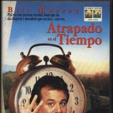 Cine: PELÍCULA VÍDEO VHS ATRAPADO EN EL TIEMPO, BILL MURRAY (CINE CIENCIA FICCION). Lote 9935723