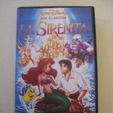 Cine: LA SIRENITA (CARATULA) WALT DISNEY. Lote 62026094