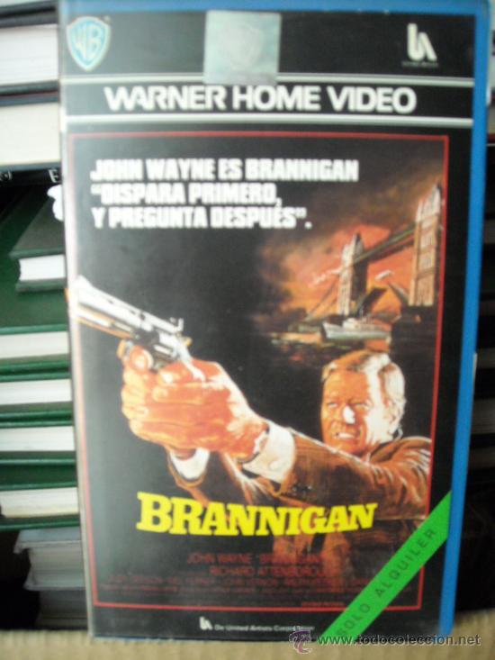 BRANNIGAN-JOHN WAYNE-VHS (Cine - Películas - VHS)
