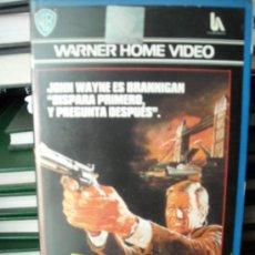 Cine: BRANNIGAN-JOHN WAYNE-VHS. Lote 23491040