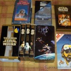 Cine: STAR WARS VHS: TRILOGÍA 1995 Y WIDESCREEN EPISODIO 1 REVISTA NT ESPECIAL GEORGE LUCAS 1983 AMPLIADO!. Lote 13145942