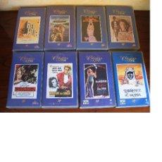 Cine: LOTE 8 PELÍCULAS VHS DE LA COLECCIÓN CLÁSICOS DEL CINE - PLANETA DEAGOSTINI. Lote 13210417
