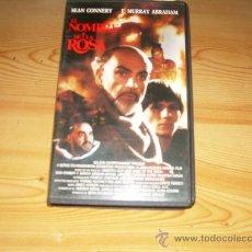 Cine: EN NOMBRE DE LA ROSA (VHS) SEAN CONNERY, CHRISTIAN SLATER, F. MURRAY ABRAHAM. Lote 27094703