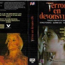 Cine: TERROR EN DEVONSVILLE (THE DEVONSVILLE TERROR) - VHS ORIGINAL DE ULLI LOMMEL - DESCATALOGADA !!!! . Lote 24983742