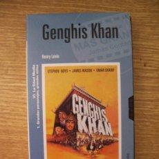 Cine - Genghis Khan (Henry Levin, 1965). vhs. Omar Sharif, James Mason. Obra maestra - 13720589
