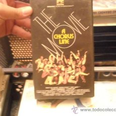 Cine: THE MOVIE CHORUS-VHS VENTA MINIMA 10 EU-. Lote 25225609
