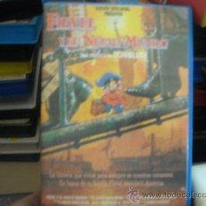 Cine: FIEVEL Y EL NUEVO MUNDO---VHS-- VENTA MINIMA 6 EU. Lote 25777211