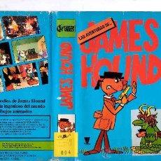 Cine: JAMES HOUND--VHS--VENTA MINIMA 6 EU. Lote 26333367