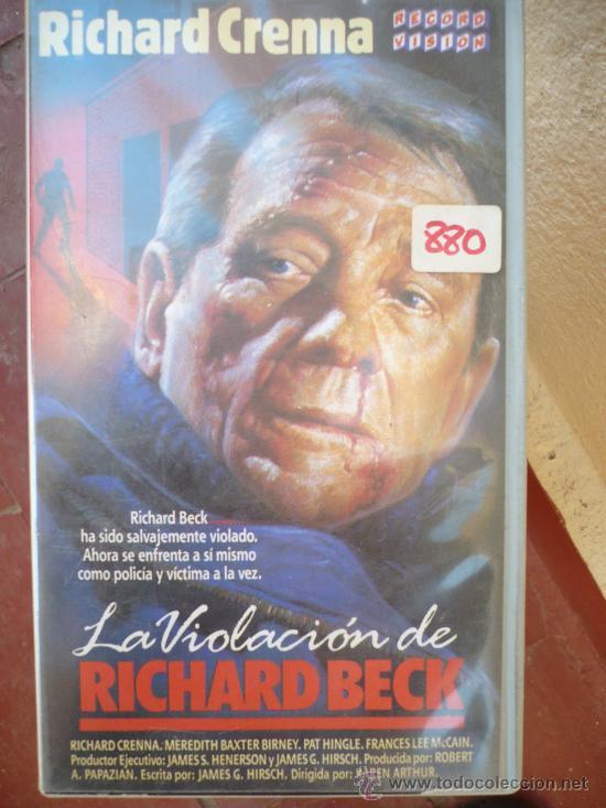 LA VIOLACION DE RICHARD BECK (1985) VHS. (Cine - Películas - VHS)