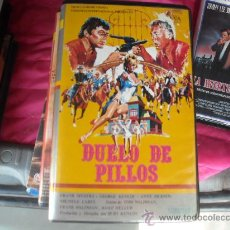 Cine: DUELO DE PILLOS / FRANK SINATRA--VHS -VENTA MINIMA 10 EU--. Lote 26868321