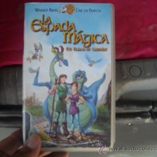 Cine: LA ESPADA MAGICA-VENTA MINIMA 6 EU-VHS. Lote 270411158