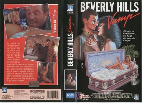 BEVERLY HILLS VAMP · CINTA VHS / · DESCATALOGADA · 1988 · TEEN MOVIE SEXY CON VAMPIROS (Cine - Películas - VHS)