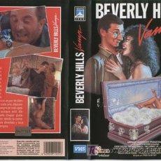 Cine: BEVERLY HILLS VAMP · CINTA VHS / · DESCATALOGADA · 1988 · TEEN MOVIE SEXY CON VAMPIROS. Lote 25725786