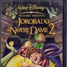Cine: EL JOROBADO DE NOTRADAME 2 - EL SECRETO DE LA CAMPANA / DISNEY VHS 2002. Lote 14633837