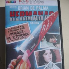 Cine: HERMANAS (1972) VHS - BRIAN DE PALMA.. Lote 14664289