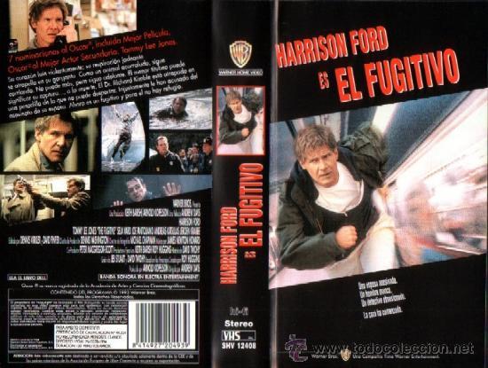 EL FUGITIVO (HARRISON FORD) (Cine - Películas - VHS)