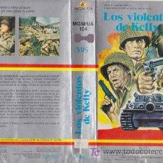 Cine: LOS VIOLENTOS DE KELLY (CLINT LASTWOOD, TELLY SAVALAS) VHS. CINTA ORIGINAL. Lote 19615677