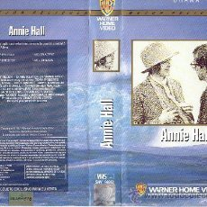 Cine: ANNI HALL WOODY ALLEN OSCAR MEJOR PELICULA VIDEO VHS ORIGINAL WARNER SPA. Lote 24083291