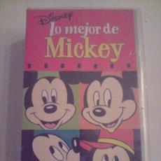 Cine: LO MEJOR DE MICKEY Y DONALD. Lote 26533934