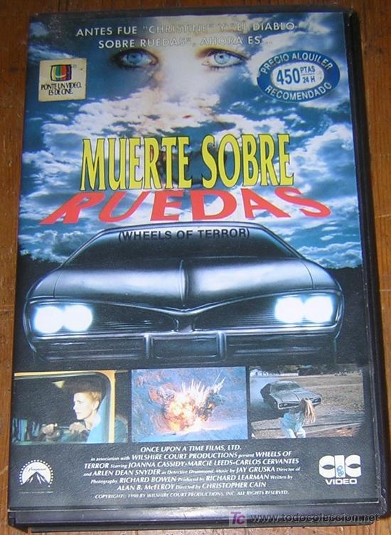 KITUS1983 --- MUERTE SOBRE RUEDAS --- (RARÍSIMA!!!) (Cine - Películas - VHS)