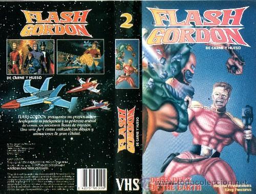 FLASH GORDON VOL.2 (DEFENSORES DE LA TIERRA). ANIMACION. DIBUJOS ANIMADOS (Cine - Películas - VHS)
