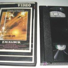 Cine: EXCALIBUR - VHS DESCATALOGADA. Lote 24155219