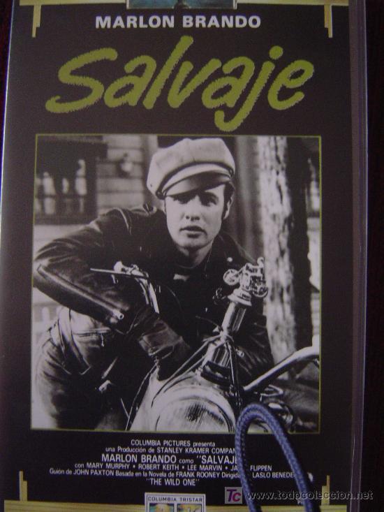 SALVAJE - MARLON BRANDON (Cine - Películas - VHS)