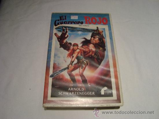 PELICULA BETA EL GUERRERO ROJO FILMAYER VIDEO (Cine - Películas - VHS)