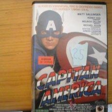 Cine: CAPITAN AMERICA-VHS-. Lote 16471531