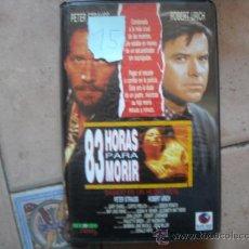 Cine: 83 HORAS PARA MORIR. Lote 16473737