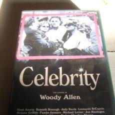 Cine: PELIS A 1 EURO !!! --- CELEBRITY (WOODY ALLEN). Lote 16490160
