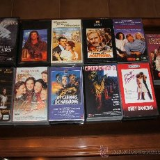 Cine: LOTE 10 PELÍCULAS VHS. CREEPSHOW 2, SAN FRANCISCO, MUJERCITAS, ETC.. Lote 13210672