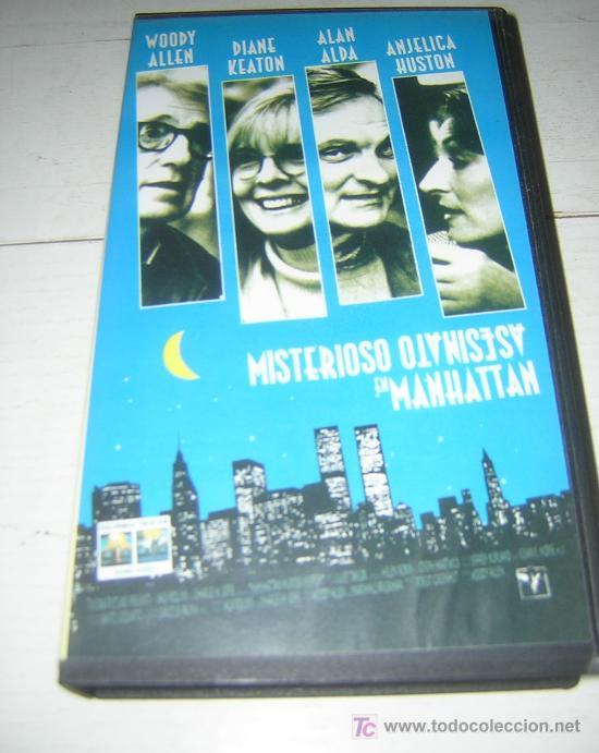 PELIS A 1 EURO !!! --- MISTERIOSO ASESINATO EN MANHATTAN (WOODY ALLEN) (Cine - Películas - VHS)