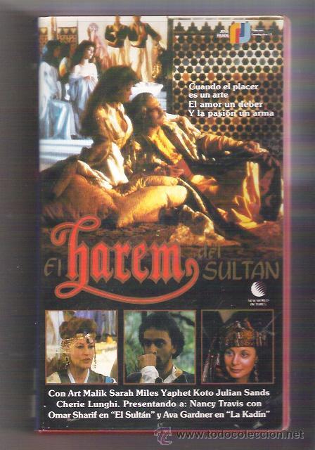 VHS EL HAREM DEL SULTAN - OMAR SHARIF - NANCY TRAVIS (Cine - Películas - VHS)