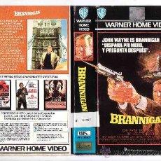 Cine: BRANNIGAN.JOHN WAYNE-VHS. Lote 17046991