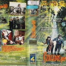 Cine: CERCADOS POR ODIO (1986) VHS. CINTA ORIGINAL DESCATALOGADA. Lote 17076204
