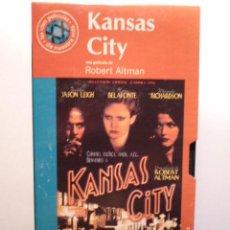 Cine: VHS - KANSAS CITY. Lote 17078511