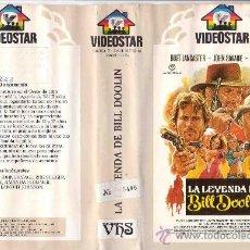 Cine: LA LEYENDA DE BILL DOOLIN / BURT LANCASTER / WESTERN / VHS- VHS. Lote 17260308
