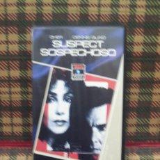 Cine: SOSPECHOSO - VHS - DENNIS QUAID / CHER. Lote 17381512
