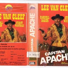 Cine: CAPITAN APACHE VHS ORIGINAL / DESCATALOGADA / SPAGUETTI WESTERN . Lote 17430117