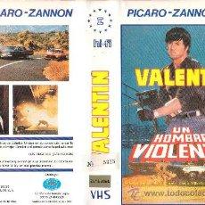 Cine: VALENTIN UN HOMBRE VIOLENTO. Lote 18651742