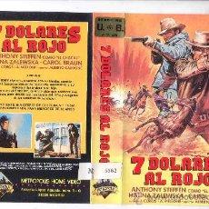Cine: 7 DOLARES AL ROJO-PEDIDO MINIMO 6 EU-VHS. Lote 17486977